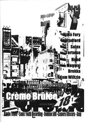 Creme Brulee Fanzine Cover