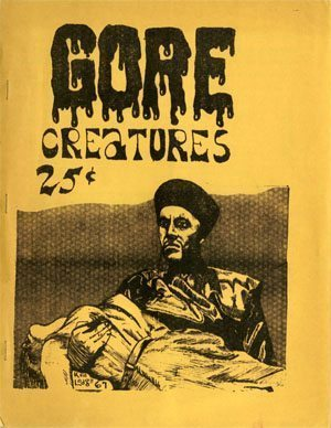 Gore Creatures Fanzine Covers
