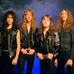 Metallica promo shot 1983