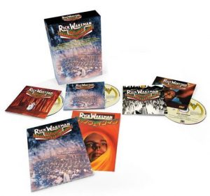 Rick Wakeman Journey To The Centre Of The Earth Box Set Reissue