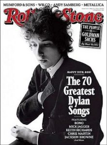 Rolling Stone Dylan cover