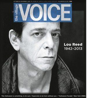 Village Voice Lou Reed RIP