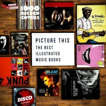 最高の音楽写真集、イラストやグラフィック・ノベル