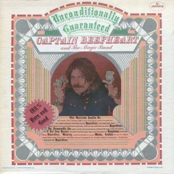 Captain Beefheart Unconditionally Guaranteed Album Cover
