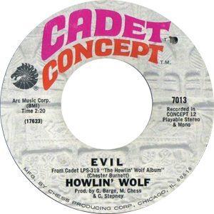Howlin' Wolf Evil (1969)