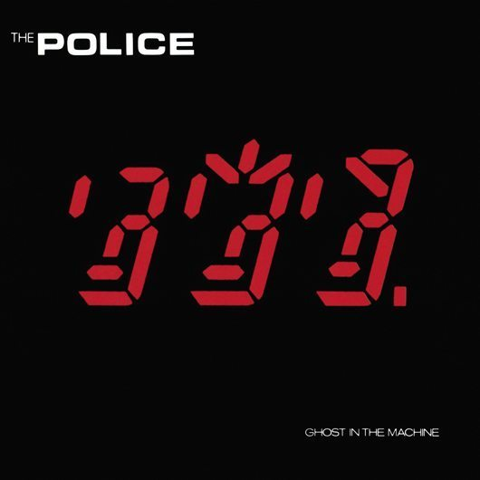 The Police Ghost In The Machine Album Cover