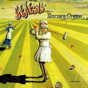 Genesis Nursery Cryme Album Cover - 300