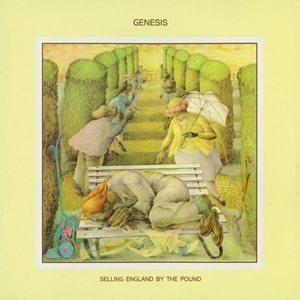 Genesis Selling England By The Pound Album Cover - 300