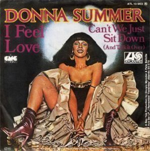 Donna Summer I Feel Love Single Sleeve - 300