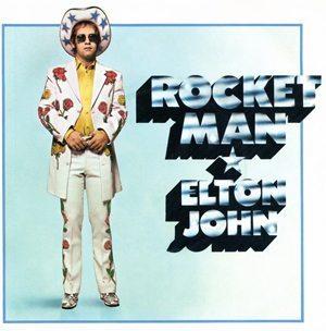 Elton John Rocket Man Single Cover