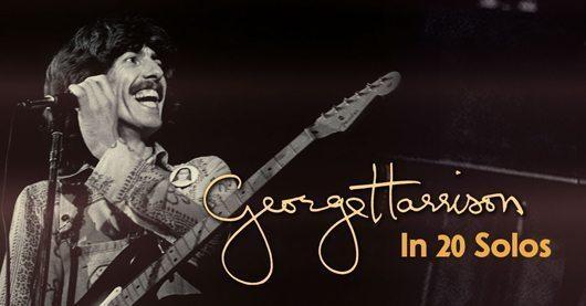 ジョージ・ハリスンのギター・ソロ20曲