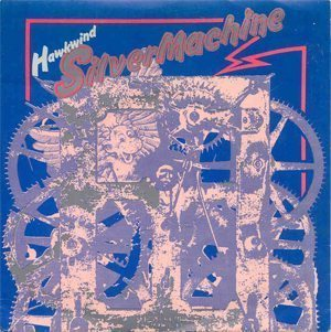 Hawkwind Silver Machine Single Cover