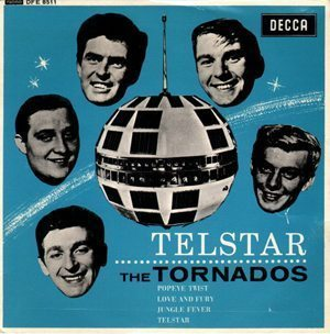 The Tornados Telstar Single Cover