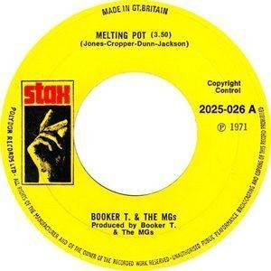 Booker T And The MGs - Melting Pot Single Label - 300