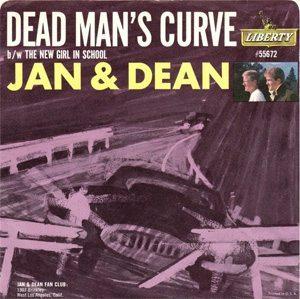 Jan And Dean Dead Man's Curve Single - 300