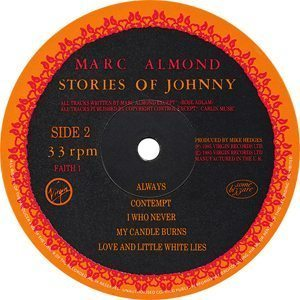 Marc Almond Stories Of Johnny Label B-side - 300