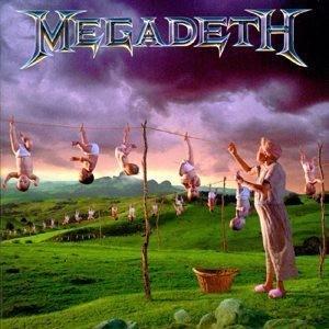 Megadeth Youthanasia Album Cover - 300