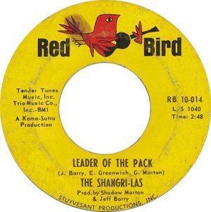 The Shangri-Las Leader Of The Pack Single - 300