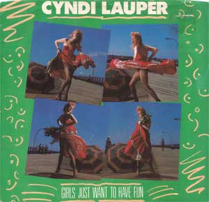 Cyndi Lauper - Girls Just Want To Have Fun Artwork