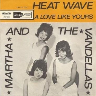 """63年全米に""""熱波""""をもたらしたマーサ&ザ・ヴァンデラスの「Heat Wave」"""