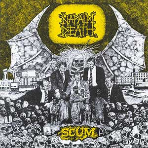 Napalm Death Scum Artwork
