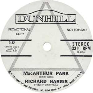 Richard Harris - MacArthur Artwork
