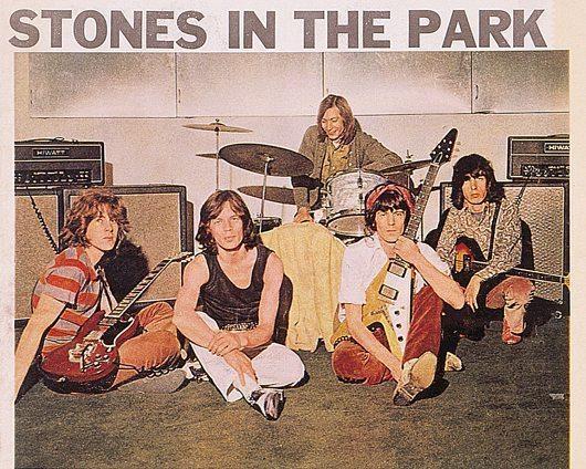 1969年7月5日午後5時25分 – ストーンズの呼び名が決定した瞬間
