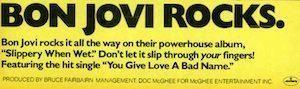 Bon Jovi ad