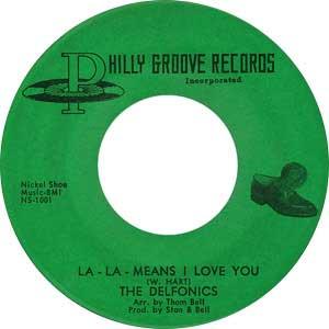 Delfonics Single Label Cover