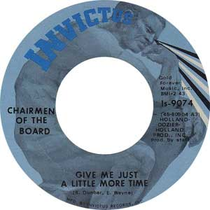 The Charimen Of The Board Single Label