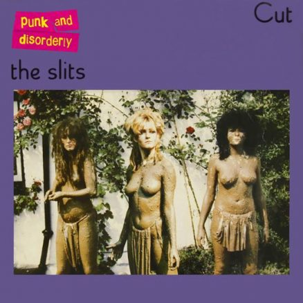The Slits Cut Album Cover - 530 - With Logo