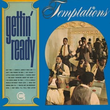 The Temptations Gettin' Ready Album Cover - 530