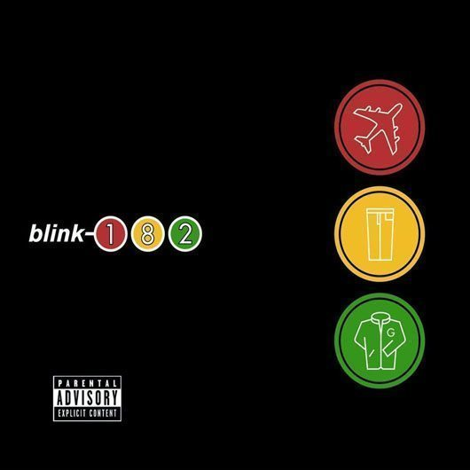 Blink-182 Take Off Your Pants And Jacket Album Cover - 530