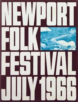 Newport Festival 1966 Poster