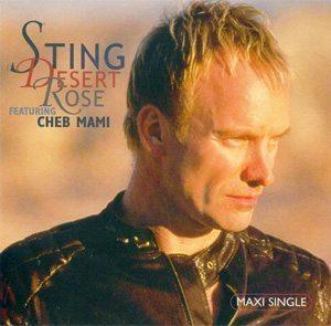 Sting Desert Rose Single Cover - 300