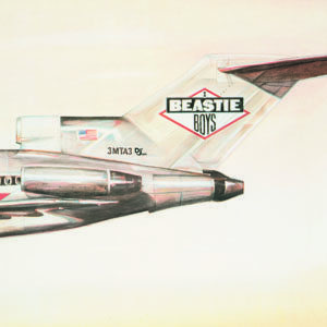 Beastie Boys Licensed To Ill Album Cover - 300