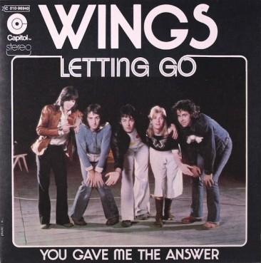 『Venus and Mars』からの2ndシングル、ウィングスの「Letting Go / ワインカラーの少女」