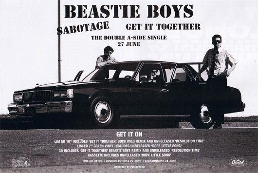 Beastie Boys Sabotage Poster - 530