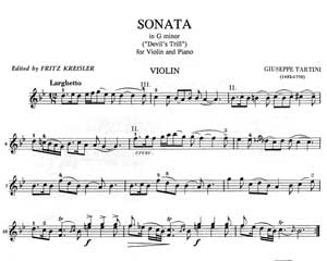 Tartini Sonata In G Minor