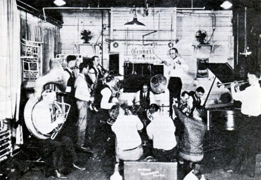 Vintage Recording Studio Image