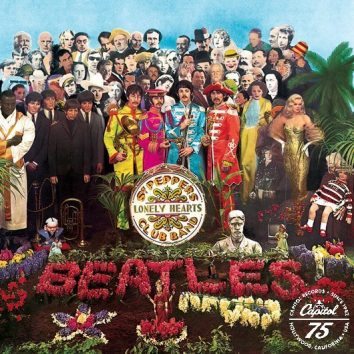 Beatles Sgt Pepper's Artwork With Logo - 530