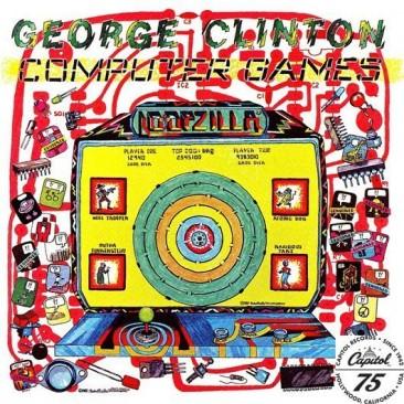 パーラメント/ファンカデリックのジョージ・クリントンのソロ第1作『Computer Games』