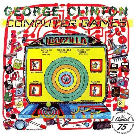 George Clinton Computer Games Album Cover With Logo - 530