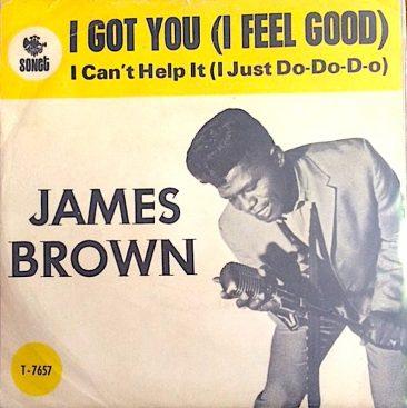 ポップ・チャートでも大ヒットしたジェームス・ブラウンの「I Got You (I Feel Good)」
