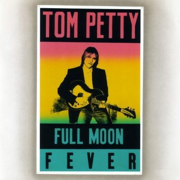 Tom Petty Full Moon Fever Album Cover - 530