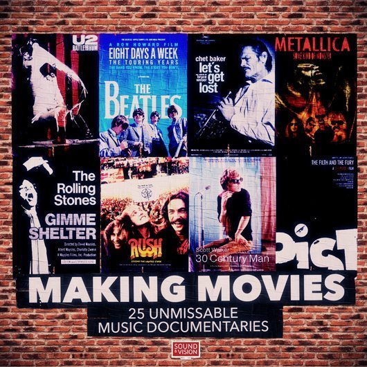 必ず見るべき音楽ドキュメンタリー映画ベスト25