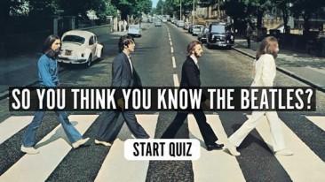 クイズ:あなたはザ・ビートルズを知っていますか?
