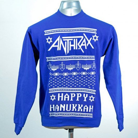 Anthrax Hannukah Sweater - 530