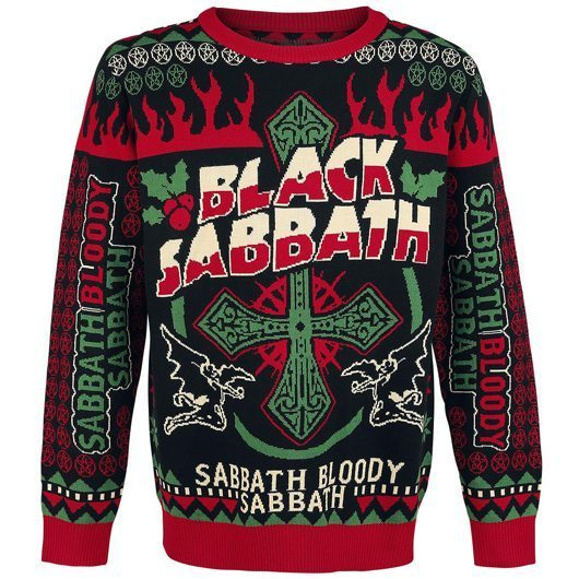 Black Sabbath Christmas Jumper - 530
