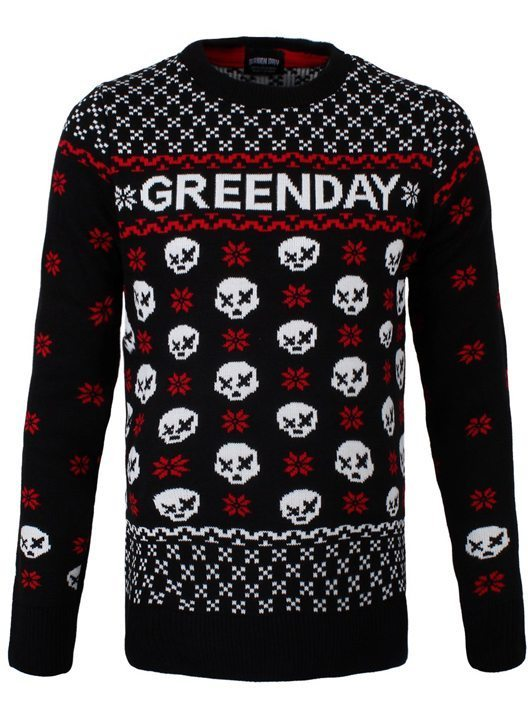 Green Day Christmas Jumper - 530